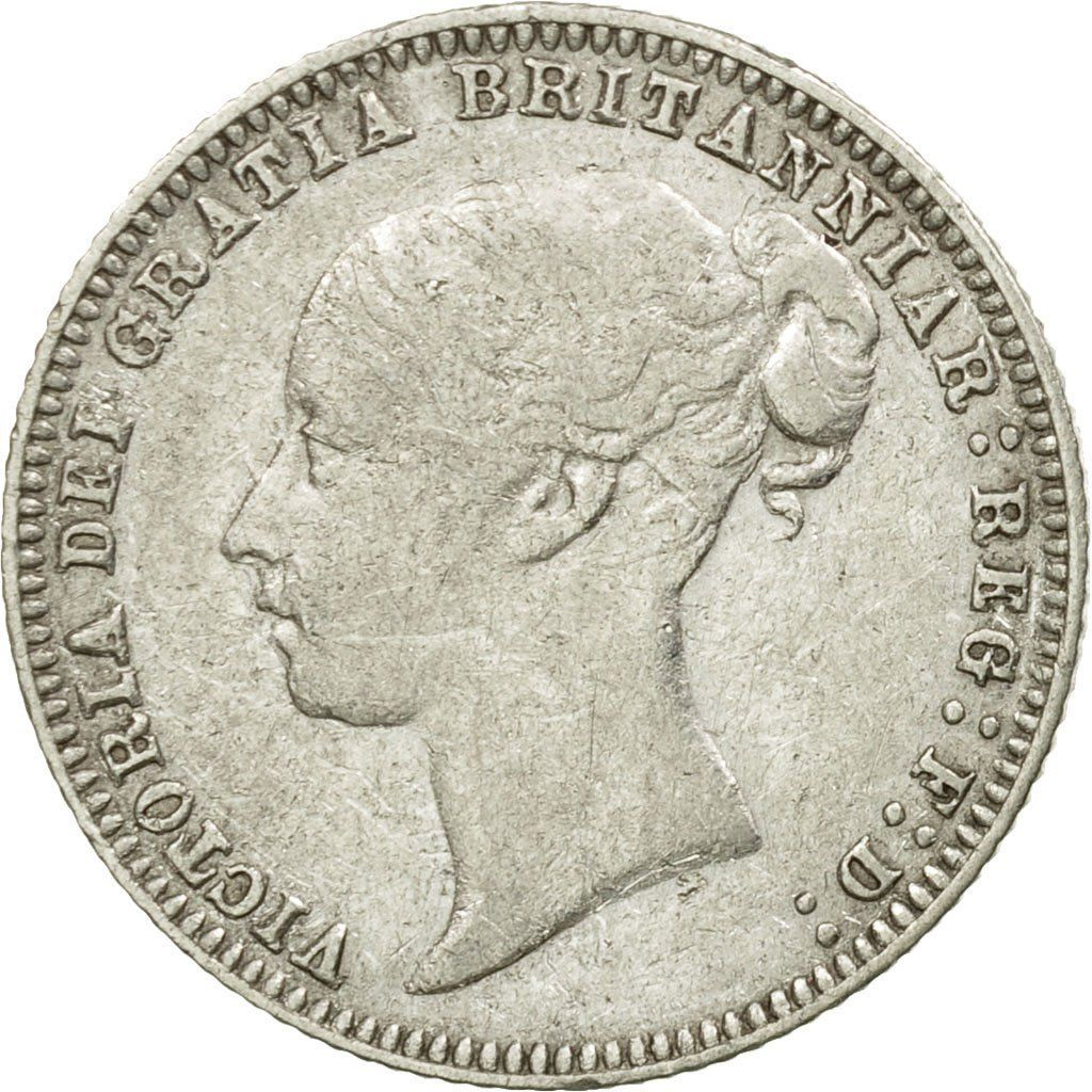 Sixpence 1879: Photo Coin, Great Britain, Victoria, 6 Pence, 1879