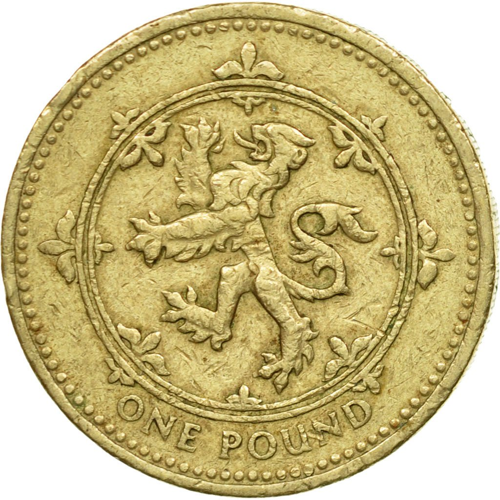 One Pound 1994 Lion Rampant: Photo Coin, Great Britain, Pound, 1994