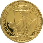 United Kingdom / Gold Half Ounce 2002 Britannia - reverse photo