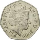 United Kingdom / Fifty Pence 2002 - obverse photo