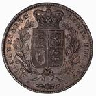 Crown 1845: Photo Coin - Crown, Queen Victoria, Great Britain, 1845