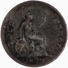 Fourpence 1839: Photo Coin - Groat, Queen Victoria, Great Britain, 1839