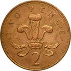 United Kingdom / Two Pence 1993 - reverse photo