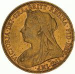 Sovereign 1901: Photo Coin - Sovereign, New South Wales, Australia, 1901
