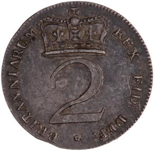 United Kingdom / Twopence 1818 (Circulating) - reverse photo