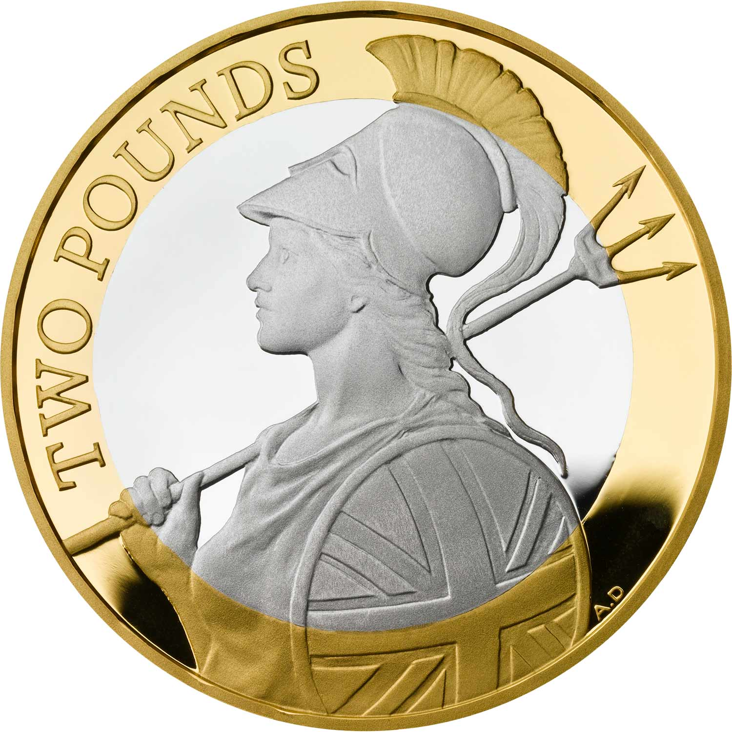 Two Pounds 2019 Britannia (mint sets only): Photo £2 Britannia 2019 Silver Proof Coin