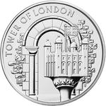 United Kingdom / Five Pounds 2020 White Tower - reverse photo