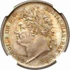 Shilling 1824: Photo Great Britain 1824 shilling