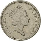 United Kingdom / Five Pence 1990 (Small) - obverse photo