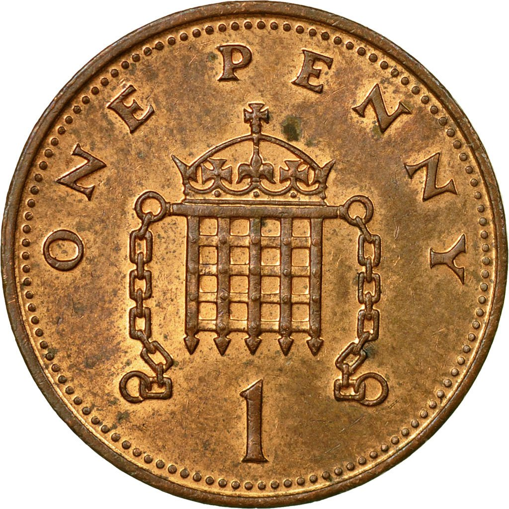 One Penny 1987: Photo Coin, Great Britain, Penny, 1987