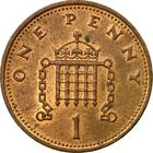 United Kingdom / One Penny 1987 - reverse photo