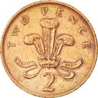 United Kingdom / Two Pence 1989 - reverse photo