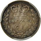 United Kingdom / Threepence 1874 (Maundy) - reverse photo