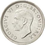 United Kingdom / Threepence 1940 (Silver, circulating) - obverse photo