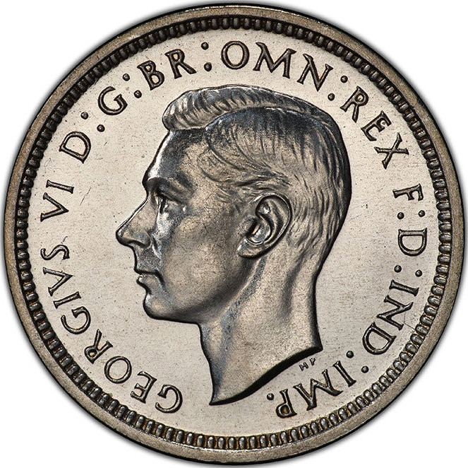 Fourpence 1946 (Maundy): Photo Great Britain, George VI, 1946, Maundy Fourpence