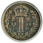 United Kingdom / Penny 1898 (Maundy) - reverse photo