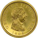 Penny 1806: Photo Coin - Penny, George III, Great Britain, 1806