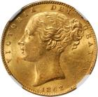 United Kingdom / Sovereign 1862 - obverse photo