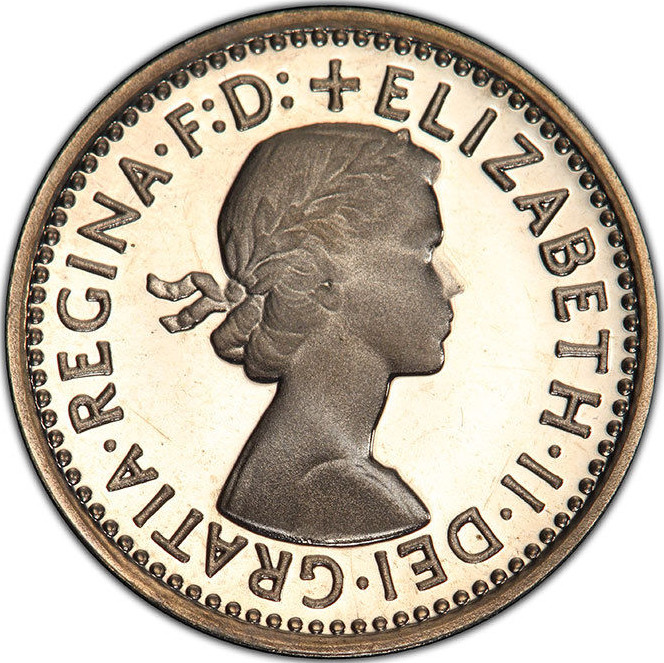 Maundy Threepence (Decimal): Photo Great Britain, Elizabeth II, 1981, Maundy Threepence