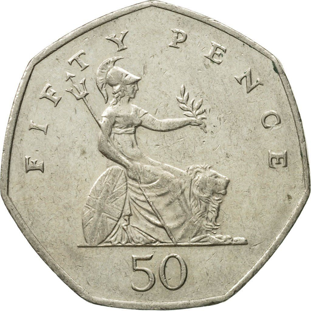 Fifty Pence 2002: Photo Coin, Great Britain, Elizabeth II, 50 Pence, 2002