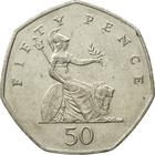 United Kingdom / Fifty Pence 2002 - reverse photo