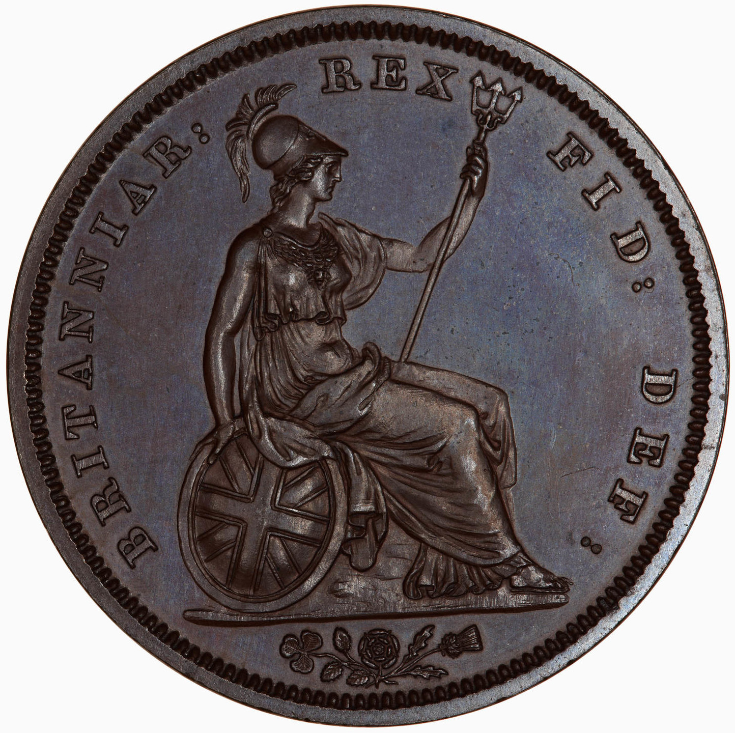 Penny 1831: Photo Coin - Penny, William IV, Great Britain, 1831
