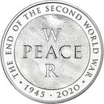 United Kingdom / Five Pounds 2020 End of World War Two / Brilliant Uncirculated in presentation folder - reverse photo