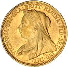 United Kingdom / Sovereign 1894 - obverse photo