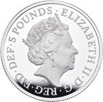 United Kingdom / Silver Two Ounces 2019 Una and the Lion - obverse photo