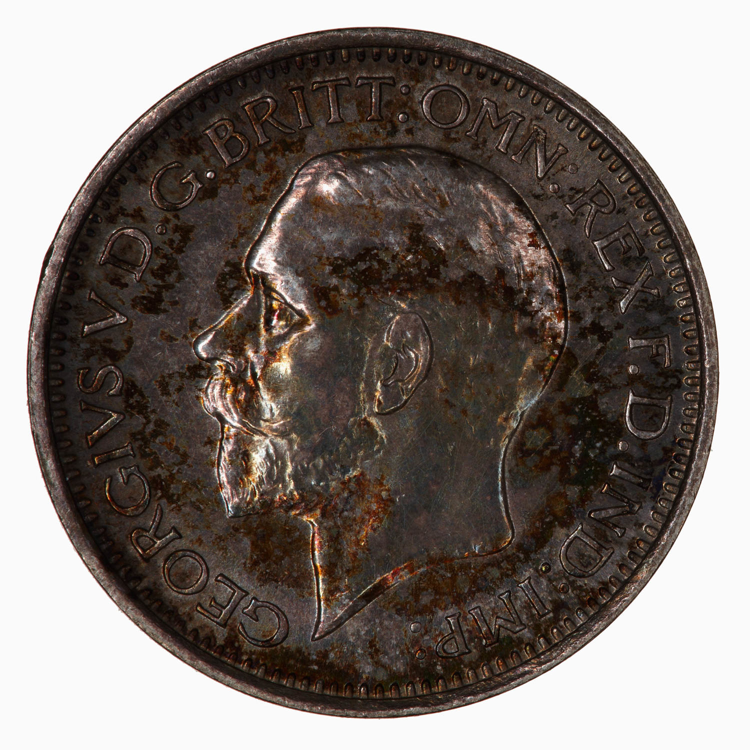 Maundy Fourpence (Pre-decimal): Photo Coin - Groat (Maundy), George V, Great Britain, 1932
