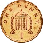 United Kingdom / One Penny 2004 - reverse photo