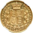 United Kingdom / Sovereign 1880 Shield - reverse photo