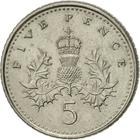 United Kingdom / Five Pence 2002 - reverse photo