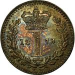 United Kingdom / Penny 1873 (Maundy) - reverse photo