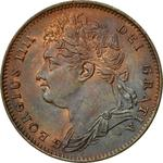 United Kingdom / Farthing 1821