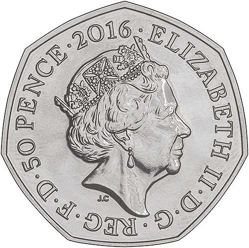Fifty Pence 2016 Jemima Puddle-Duck: Photo 2016 UK Coin 50p BU Beatrix Potter - Jemima Puddle-Duck