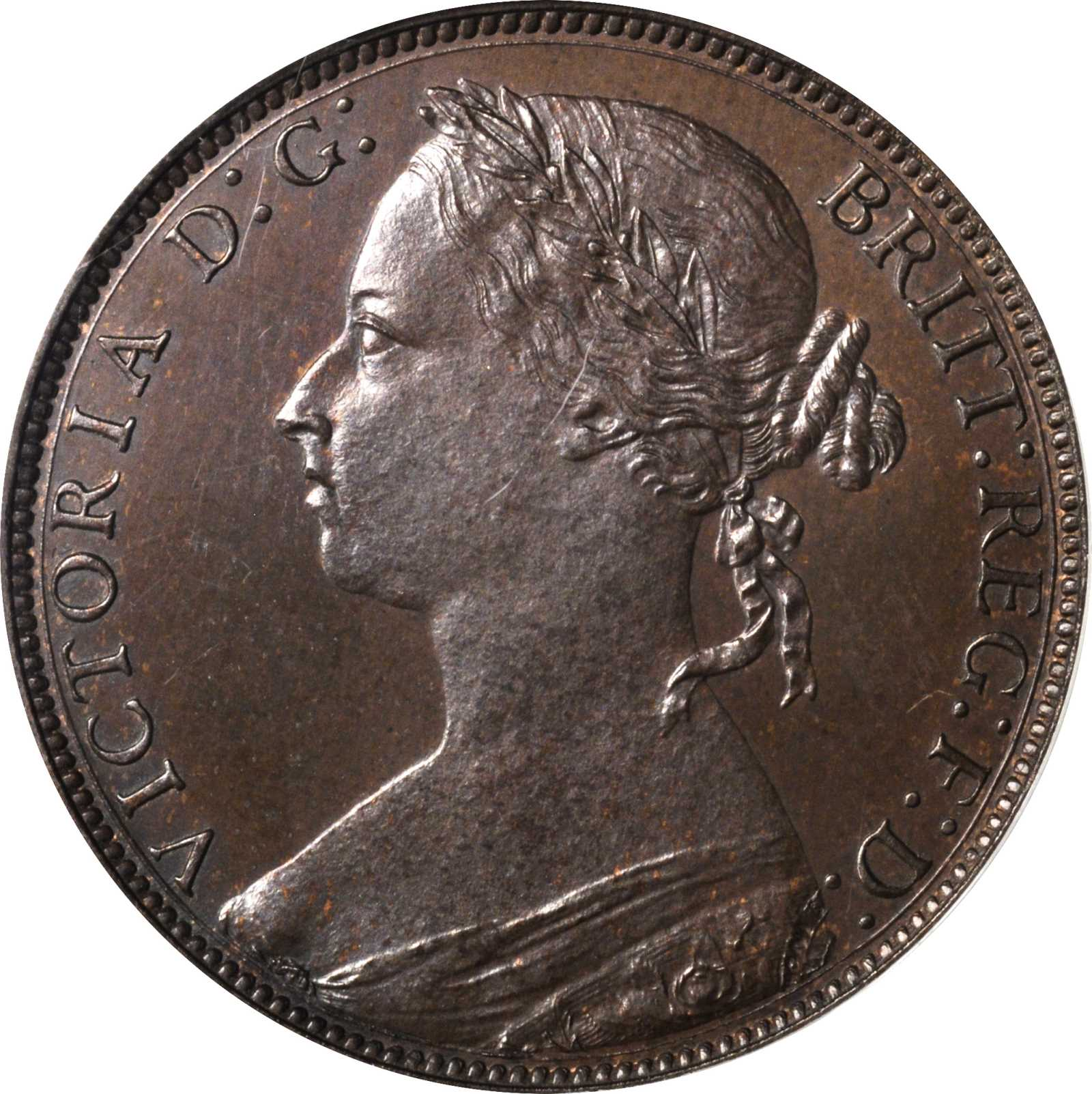 Penny (Britannia, third design): Photo Great Britain 1882-H penny