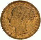 United Kingdom / Sovereign 1881 St George - obverse photo