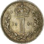 United Kingdom / Penny 1895 (Maundy) - reverse photo