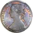 United Kingdom / Penny 1860 (Small) - obverse photo
