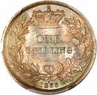 Shilling 1866: Photo Great Britain 1866 shilling