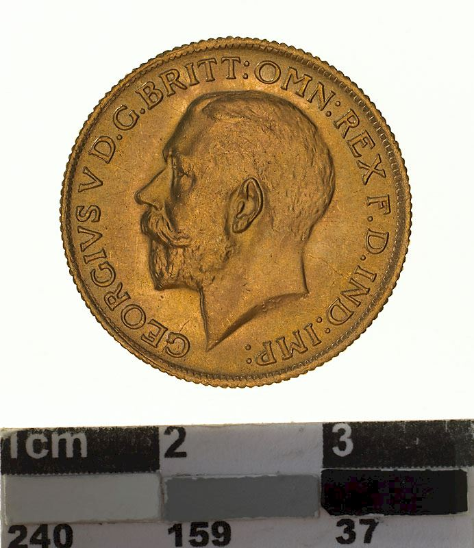 Sovereign 1925: Photo Coin - Sovereign, New South Wales, Australia, 1925