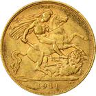 United Kingdom / Half Sovereign 1911 - reverse photo