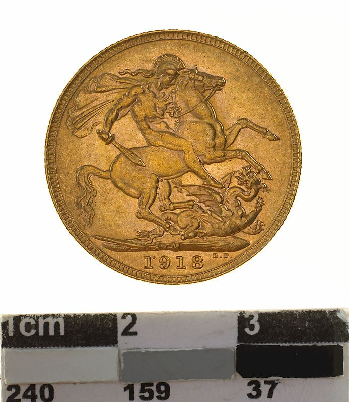 Sovereign 1918: Photo Coin - Sovereign, Victoria, Australia, 1918