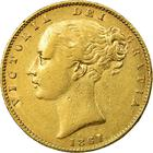 United Kingdom / Sovereign 1861 - obverse photo