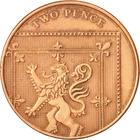 United Kingdom / Two Pence 2008 (Dent design) - reverse photo