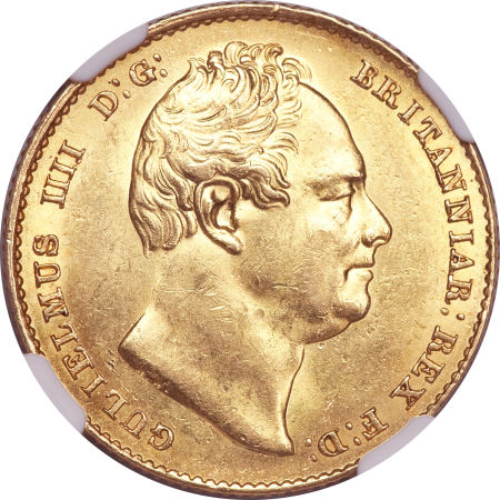 Sovereign 1837 William IV: Photo Great Britain 1837 sovereign