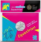 United Kingdom / Fifty Pence 2011 - London 2012 - Equestrian / Specimen in card - reverse photo