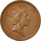 United Kingdom / One Penny 1991 - obverse photo