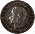 Sixpence 1936: Photo Coin - Sixpence, George V, Great Britain, 1936